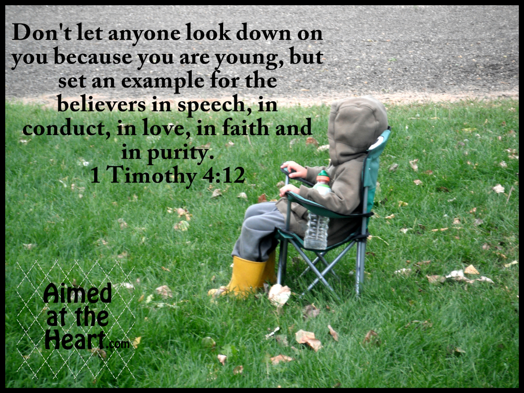 Word on Wednesday: Wisdom of the Young - by Aimed at the Heart