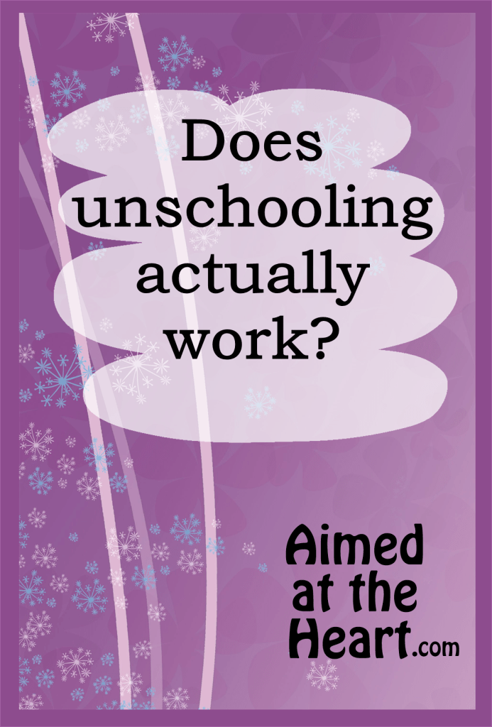 A perfect example of how unschooled kids actually do learn everything they need to know. Does unschooling actually work? - Aimed at the Heart