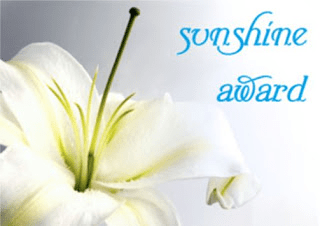 Blogger Award Nomination: Sunshine Award
