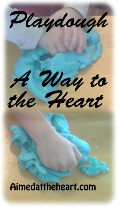 How I'm pursuing the hearts of my children through playdough