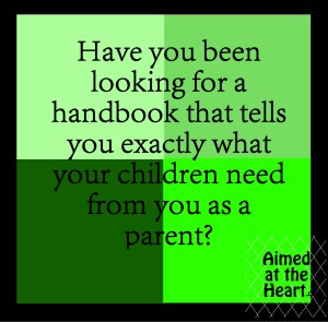 Have you ever wanted a positive parenting handbook? Revolutionize your parenting by honoring your child's nature - by Aimed at the Heart