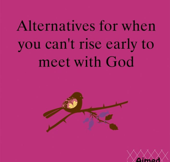 The Early Bird, I don't like Worms Enough: Alternative to Rising Early