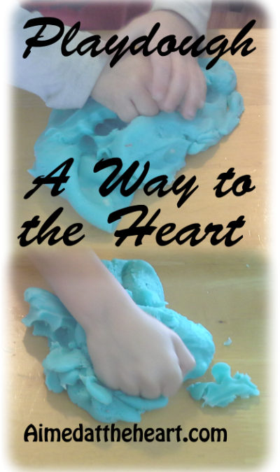 P is for Playdough: Pursuing a Child's Heart